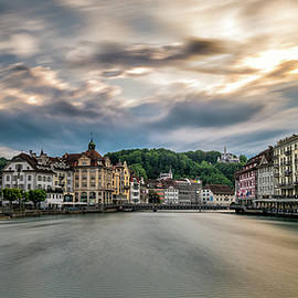 Sunset in Lucerne - James Udall