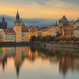 Catalin Fudulu - Sunset in Prague