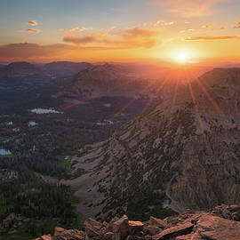 James Udall - Sunset in the Uinta Mountains