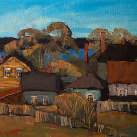 Alena Kogan - Sunset in Village