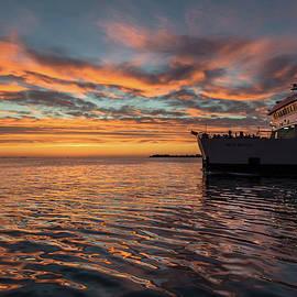 Sunset in Zadar No 1 - Chris Fletcher