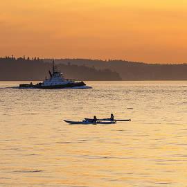 Kyle Wasielewski - Sunset Kayaking