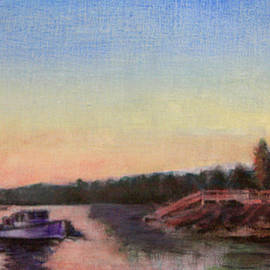 David Zimmerman - Sunset Lake