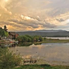 Traci Lehman - Sunset on Big Bear Lake