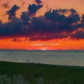 Jeff Folger - Sunset on Racepoint beach