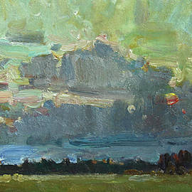Juliya Zhukova - Sunset on the field