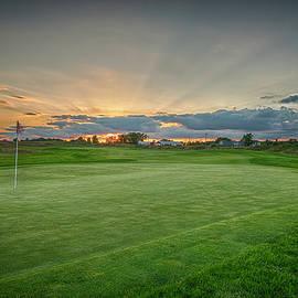 Michael Bowen - Sunset on the golf course