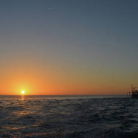 Aimee L Maher Photography and Art Visit ALMGallerydotcom - Sunset on the Gulf