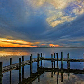 HH Photography of Florida - Sunset On The Intracoastal by H H Photography of Florida