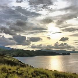Sergey Lukashin - Sunset on the island of Komodo