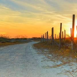 Linda Covino - Sunset on Tybee