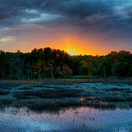 Lilia D - Sunset over Ipswich River