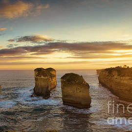 Josephine Caruana - Sunset over Loch Ard Gorge with Topaz effect