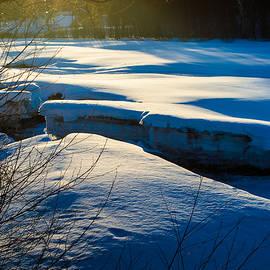 Jukka Heinovirta - Sunset Over Melting Ice
