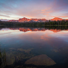 Mavourneen Strozewski - Sunset over Mirror Lake