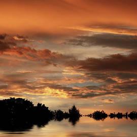 Jessica Jenney - Sunset Pond Reflections