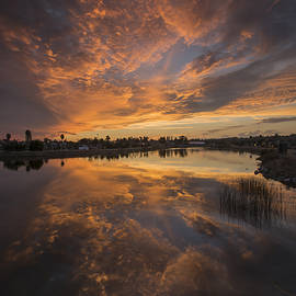 Bruce Frye - Sunset Reflected