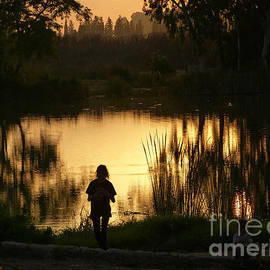 Arik Baltinester - Sunset reflections