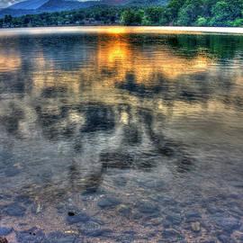 Reid Callaway - Sunset Reflections Lake Junaluska Sunset Blue Ridge Mountains North Carolina