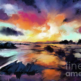 Sunset Seascape - Melanie D