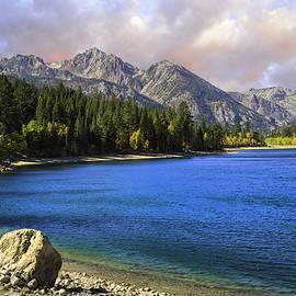 Lynn Bauer - Sunset Skies at Twin Lakes