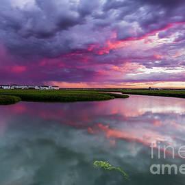 Tony Baldasaro - Sunset Storm Over Hampton