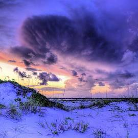 JC Findley - Sunset Storms Over Pensacola Beach
