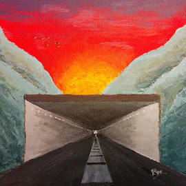 Renata Vincoletto - Sunset Tunnel by Filipe