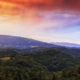 Sunset View of the Blue Ridge - Andrew Soundarajan