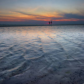 Sunset Walk on West Meadow Beach - Rick Berk