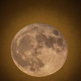 Brent L Ander - Super Moon Over Petit Manan