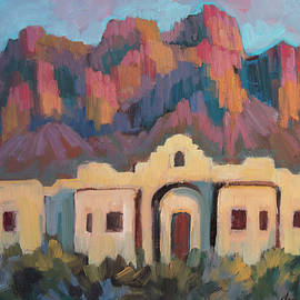 Superstition Mountain Evening - Diane McClary