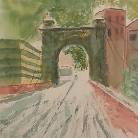 David Bartsch - Suspension Bridge Shadows