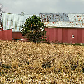 William Sturgell - Swayback Barn on a Dreary Day