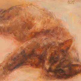 Quin Sweetman - Sweet Friend, Original Feline Pet Portrait