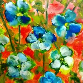 Patricia Taylor - Sweet Peas from Japan
