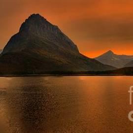 Adam Jewell - Swiftcurrent Fiery Sunset