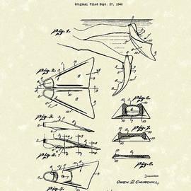 Prior Art Design - Swim Fin 1948 Patent Art