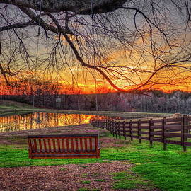 Reid Callaway - Swing With Me Relaxation Sunset Art