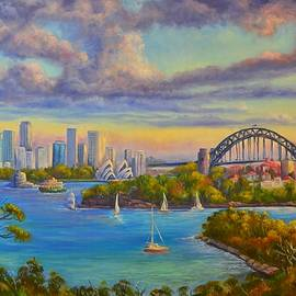 Christopher Vidal - Sydney Harbour from Taronga