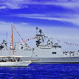 Miroslava Jurcik - Sydney Schooner And Indian War Ship