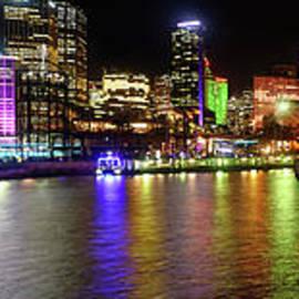 Kaye Menner - Sydney Skyline by Kaye Menner