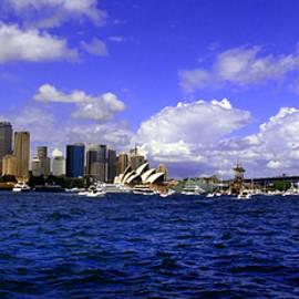 Miroslava Jurcik - Sydney Skyline On Australian Day