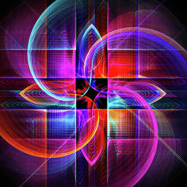 FractalDzines - Symmetry in Motion