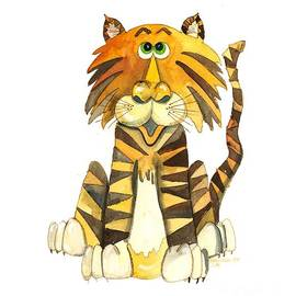 Shelley Wallace Ylst - Tabby the Tiger