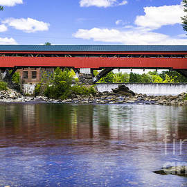 New England Photography - Taftsville Covered Bridge.