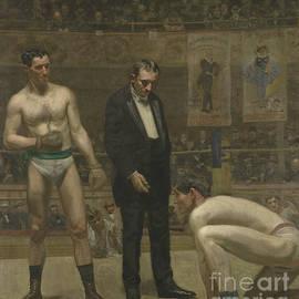 Taking the Count, 1898 - Thomas Cowperthwait Eakins