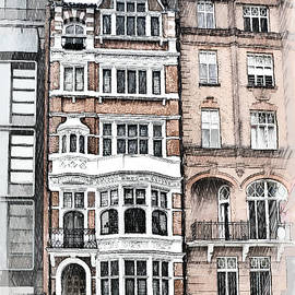Tall House In Chelsea London UK
