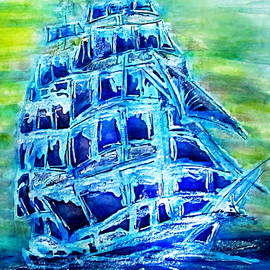 Danielle  Parent - Tallship Alcohol Inks