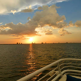 Tina M Wenger - Tampa Bay Florida Sunset Two